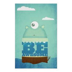 Be Awesome Print #ARTSPROJEKT
