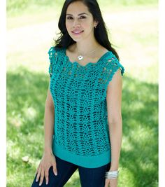 You and Me Tunic - Free Crochet Pattern