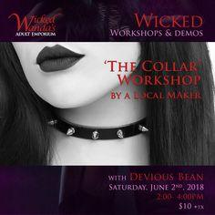 WWae The Collar Workshop promo June 2018 Freelance Graphic Design, Graphic Design Projects, Wicked, Workshop, June, Atelier, Work Shop Garage