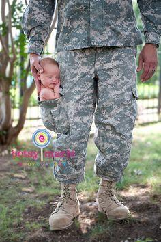 military newborn