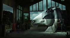Nick Fiddian Green - Copper Horse