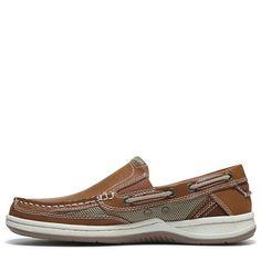 Margaritaville Men's Anchor Slip On Boat Shoes (Tan)