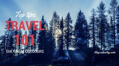 Winter travel Outdoors tips and tricks