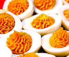 ¡5 recetas de huevos rellenos para sorprender! , Estas 5 recetas de huevos rellenos os van a sorprender. Divertidas recetas de huevos rellenos de jamón, de anchoas, huevos rellenos de salmón...