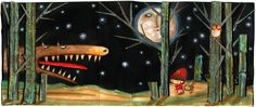Little Red Riding Hood / Le petit Chaperon Rouge - Elisbetta Decontardi