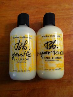 This shampoo and conditioner changed my hair... IN LOVE with bumble, totally worth the money.
