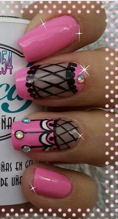 Nails Nail Designs 2017, Nail Art Designs, Cute Nail Art, Beautiful Nail Art, Fun Nails, Pretty Nails, Nancy Nails, Claw Nails, Nails 2016