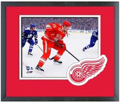 "Pavel Datsyuk 2014 NHL Winter Classic - 11""x 14"" Framed & Matted Photo Plus"