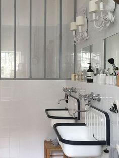 The bathroom is crucial to the livability of a home. If a bathroom doesn't function well, it can be a source of stress and discomfort. Furthermore, the bathroom more than any other room is susceptible to change as your family changes. Laundry In Bathroom, Bathroom Style, Home Decor Bedroom, Green Bathroom, Glass Bathroom, Bathroom Remodel Cost, Bathroom, Bathroom Decor, Bathroom Inspiration