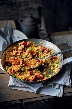 Recept Risotto met chorizo en tuinbonen | ELLE Eten