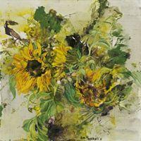 annamariatsakali - Google Search Sunflowers, Artist, Anna, Painting, Google Search, Artists, Paintings, Draw, Drawings