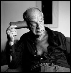Vladimir Nabokov (1899-1977), Gstaad, Switzerland, 1971 -by Horts Tappe