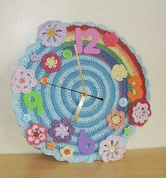 Relog Crochet Home, Love Crochet, Crochet Motif, Beautiful Crochet, Crochet Flowers, Knit Crochet, Crochet Patterns, Knitting Projects, Crochet Projects