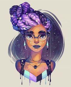 Ilustra��es lindas de meninas negras http://marimoon.com.br/content/post/ilustracoes-lindas-de-meninas-negras