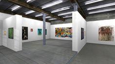 "Virtual 3D Exhibition ""1965,85°C"" by Gallery Queen Anne by GRAPHTWERK  www.graphtwerk.com"