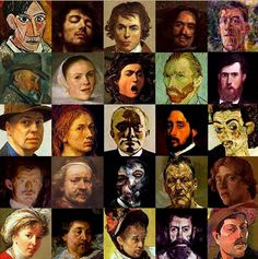 Summary: In this lesson plan students will view pictures of famous artworks and create their own. They will also identify the similarities