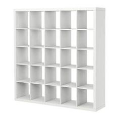 expedit shelves from ikea. this would be for my studio