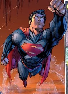 Superman by Jim Lee Superman Man Of Steel, Superman Wonder Woman, Batman And Superman, Superman Family, Superman Drawing, Superman Superman, Batman Art, Dc Comics Art, Fun Comics