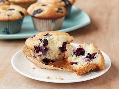 Blueberry Muffins Recipe : Alton Brown : Food Network