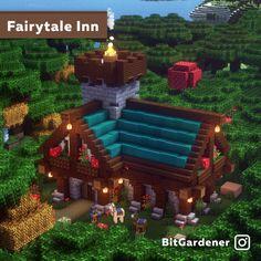 Minecraft Cottage, Cute Minecraft Houses, Minecraft Plans, Minecraft Survival, Amazing Minecraft, Minecraft Tutorial, Minecraft Blueprints, Minecraft Creations, Minecraft Designs