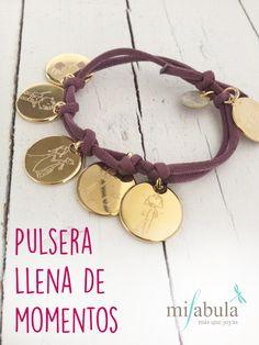 Una pulsera con recuerdos especiales en cada medalla, ¡nos encanta!