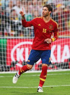 Sergio Ramos Photo - Portugal v Spain - UEFA EURO 2012 Semi Final