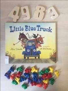 Little Blue Truck Crafts For Preschoolers
