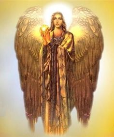 "Archangel Uriel (""YUR-ee-ell""). ""Illumination of God,"" Uriel is the angel of light, intelligence and understanding. When working with him, you are likely to experience many ""A-Ha!"" eureka moments. He brings out-of-the-blue ideas, increases intellectual capacity and claircognizance. Call on Uriel for help with: conversation skills, understanding of any particular subject, and help with exams and academics."