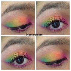 bh cosmetics take me to brazil palette look