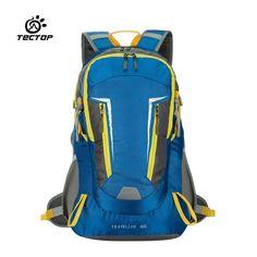 62.31$  Buy now - http://aliu95.worldwells.pw/go.php?t=32686833083 - TECTOP PJ5312 Women Men bag Unisex Nylon Outdoor Sport Backpacks Multifunctional Hiking Climbing Camping Bags Travel Backbag 40L 62.31$