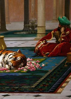 The Grief of the Pasha, 1882 - Jean Leon Gerome