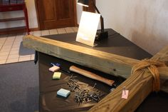 Here is the 1st in a series of Prayer Stations created by youth director Jason Huffman and his students. Read how the process they used to come up with them here. See the first three stations here.…