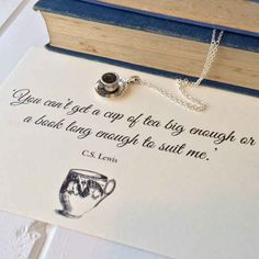 C.S. Lewis | 16 Stunning Minimalist Necklaces Inspired By Famous Authors