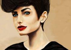 Drawing: Darla ❦