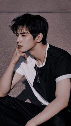 Cha Eunwoo from Astro Hot Korean Guys, Korean Boy, Cute Korean, Kim Woo Bin, K Pop, Yang Yang Actor, Park Jin Woo, K Drama, Handsome Korean Actors
