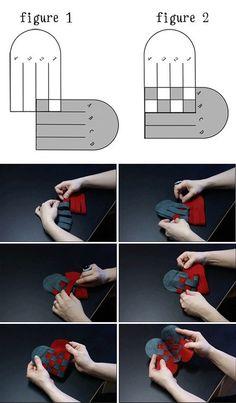 DIY Crossed Heart