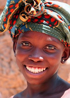 """A     Golden Smile"" --Mali-- by Ferdinand Reus, via Flickr"
