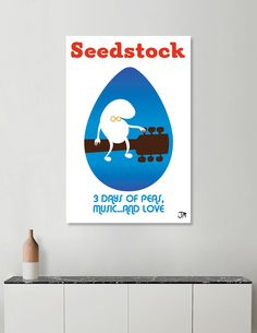 Discover «SEEDSTOCK», Limited Edition Canvas Print by Giuseppe Meduri - From $59…