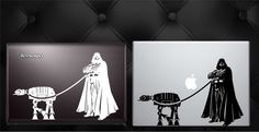 Can't wait for the new Star Wars movie? Grab this new original Darth Vader's Pet AT-AT vinyl decal. Everyone has a laptop, make yours unique! (If you'd like one for your wall in a larger size it will result in an increase in price.)  Available Here: https://www.etsy.com/listing/252823039/darth-vaders-pet-at-at-star-wars?ref=shop_home_active_1