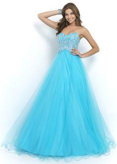 Blush 5425 Strapless Ball Gown