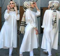 Modest Fashion Hijab, Abaya Fashion, Fashion Outfits, Modest Dresses, Modest Outfits, Stylish Dresses, Kids Dress Wear, Muslim Women Fashion, Stylish Dress Designs