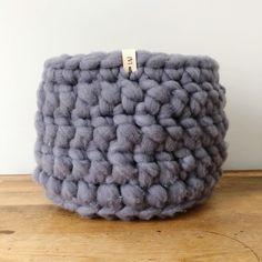 Large Wool Roving Basket Merino Wool Blanket, Hand Stamped, Basket, Etsy