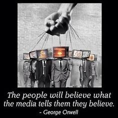 Too many people do not use the brain they were given to think critically about what they hear or read.
