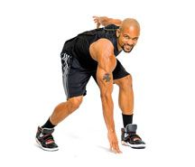 Total body, calorie torching 20 minute workout and the only tool you'll need is yourself.