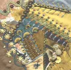 Victorian Crazy Quilt Patterns | EMBROIDERY STITCHES FOR CRAZY QUILTS « EMBROIDERY & ORIGAMI