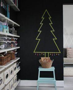 Árboles de navidad originales y minimalistas - DIY