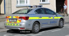 An Garda Siochana Toyota Avensis in Gorey, Co. Toyota Avensis, Police Cars, Law Enforcement, Countries, Irish, March, Irish People, Police, Ireland
