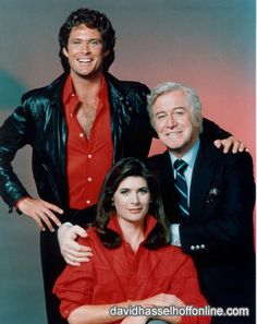 David Hasselhoff as Michael Knight is partnered with a high tech crime-fighting car nicknamed KITT. Edward Mulhare as Devon Miles, who appeared in nearly every episode to provide mission details to Knight & KITT. Patricia McPherson as Dr. Bonnie Barstow (Seasons 1, 3-4), KITT's chief technician and romantic tension for Michael. The character was dropped after the Season 1, but due to strong fan reaction and lobbying by Hasselhoff & Mulhare, she returned in Season 3 and stayed till the show's…