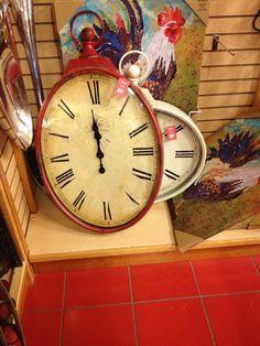 Clocks at Pier One