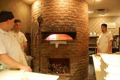 Oven at Punch Pizza, Highland Park, Saint Paul - Not a great photo by any means, but the first in Punch's photography contest.